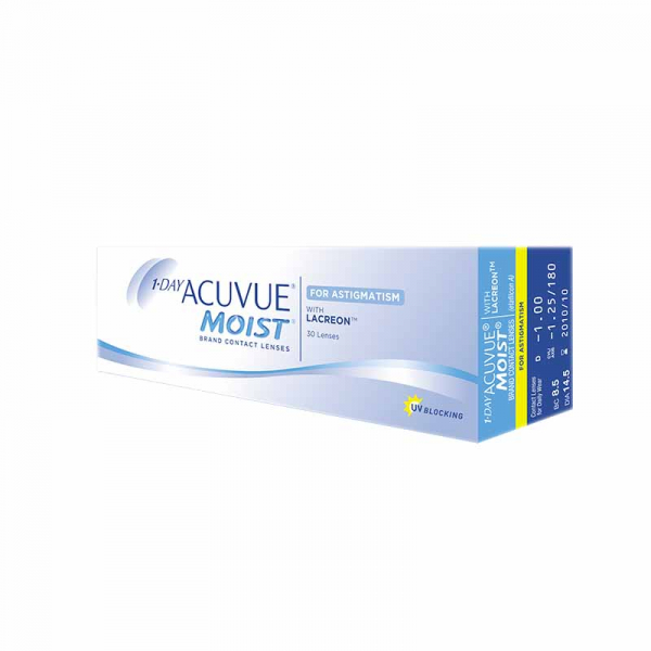 Acuvue Oasys 1-Day for Astigmatism (30 линз)